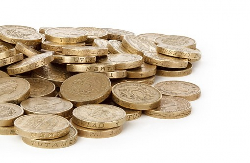 "Alex Burghart MP warns the deadline for spending ""round pounds"" is approaching"