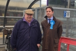 Alex Burghart MP and Jim Hoare, Brentwood Access Group