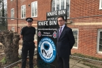 Alex Burghart MP with Essex Police's Brentwood District Commander Lewis Basford